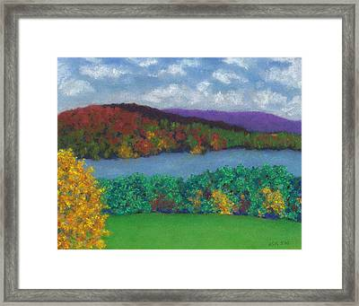 Crisp Kripalu Morning Framed Print