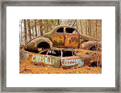 Cristian's Cousin Framed Print by Tom and Pat Cory