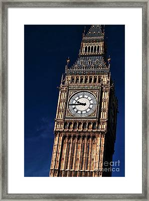 Crooked Ben Framed Print by John Rizzuto