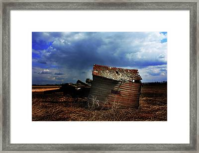 Crooked Breeze One Framed Print by Empty Wall