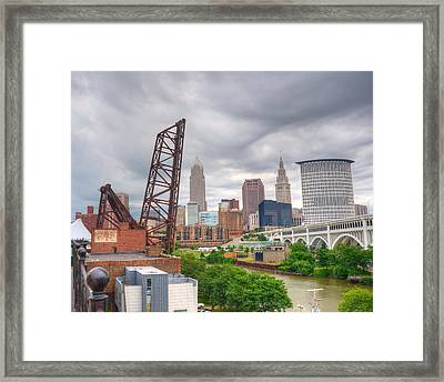 Crooked River Bridge Framed Print