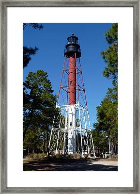 Crooked River Lighthouse Framed Print by Carla Parris