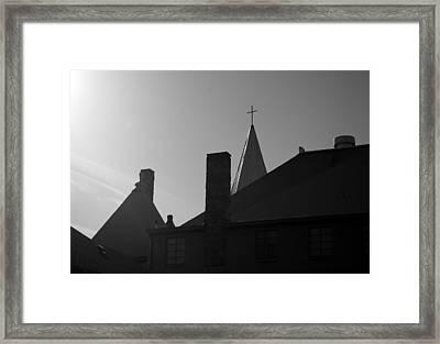 Cross Above All Framed Print by Dale Stillman