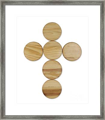 Cross Framed Print by Blink Images