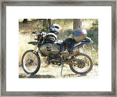 Cross Country Framed Print