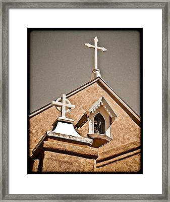 Cross Gable Framed Print
