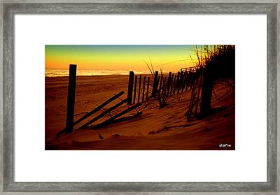 Cross Over Framed Print
