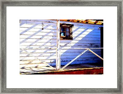 Cross Purposes  Framed Print