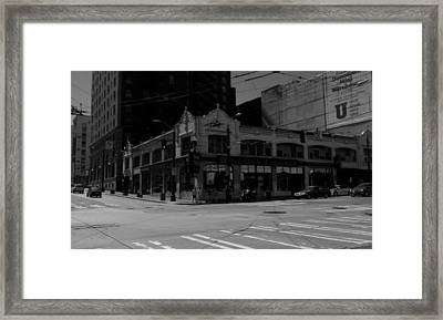 Cross Wired Framed Print by Kevin D Davis