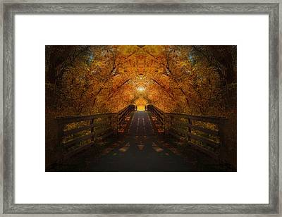 Crossing Over - Color Framed Print