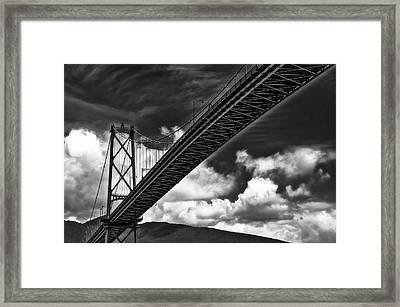 Crossing Framed Print