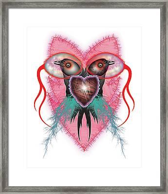 Crow Framed Print by Foltera Art