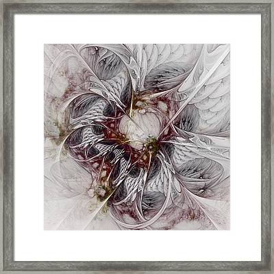 Framed Print featuring the digital art Crowd Of Sorrows by NirvanaBlues