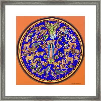 Crown Of Creation Framed Print
