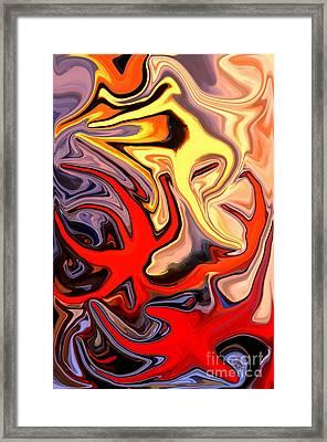 Crown Of Thorns Starfish Framed Print
