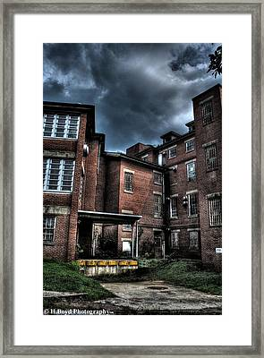 Crownsville Loading Dock Framed Print by Heather  Boyd