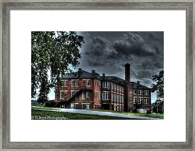 Crownsville Main Framed Print by Heather  Boyd