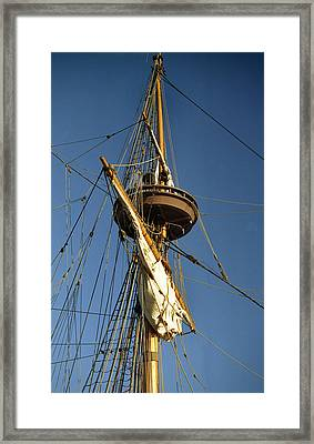 Crows Nest Framed Print by Skip Willits