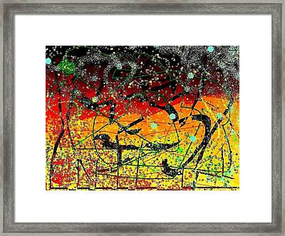Crows Framed Print by YoMamaBird Rhonda
