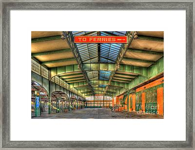 Crrnj Terminal I Framed Print by Clarence Holmes