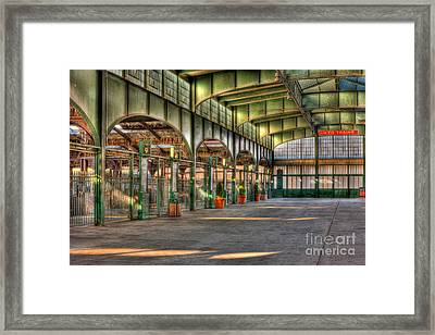 Crrnj Terminal II Framed Print by Clarence Holmes