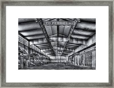 Crrnj Terminal V Framed Print by Clarence Holmes