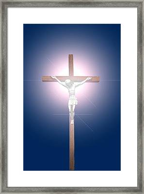 Crucifix Framed Print by John Short