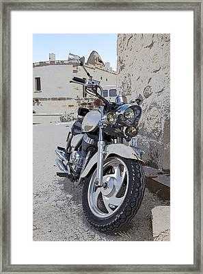 Cruiser Motor Bike Turkey Framed Print by Kantilal Patel