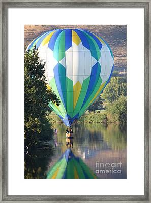 Cruising The River Framed Print by Carol Groenen