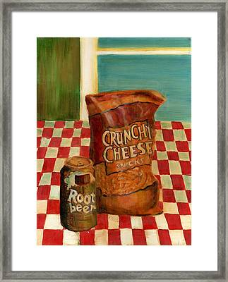 Crunchy Cheese - Summer Framed Print by Thomas Weeks