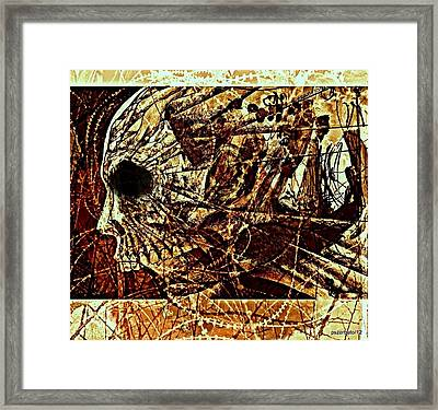 Crush The Infinity Of My Despair Framed Print by Paulo Zerbato