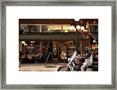 Framed Print featuring the photograph Crusin' Ybor by Steven Sparks