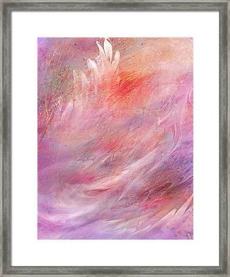 Cry Of A Bird Framed Print by Rachel Christine Nowicki