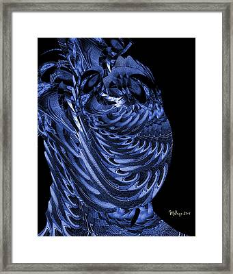 Cryptic Triptych I Framed Print