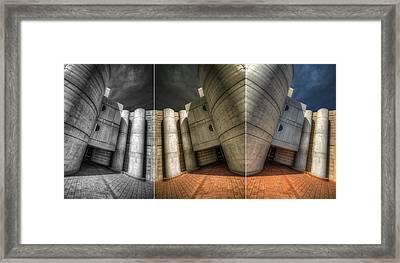 Cryptic Triptych Framed Print by Wayne Sherriff