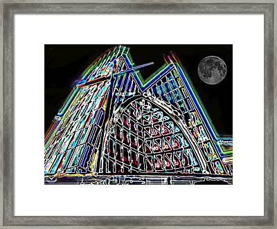 Crystal Cathedral 2 Framed Print by Samuel Sheats