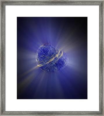 Crystal Healing Framed Print by Victor De Schwanberg