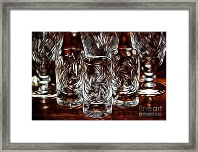 Crystal Magic Framed Print by Mariola Bitner