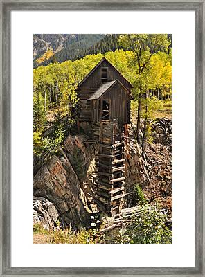 Crystal Mill 6 Framed Print by Marty Koch
