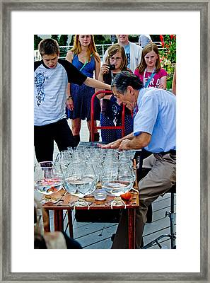 Framed Print featuring the photograph Crystal Music by Randall  Cogle
