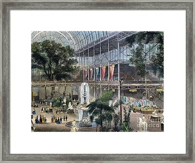 Crystal Palace Framed Print by Granger