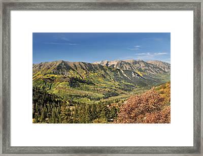 Crystal Valley Framed Print by Marty Koch
