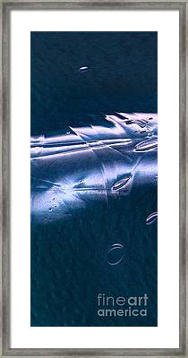 Crystalline Entity Panel 1 Framed Print by Peter Piatt