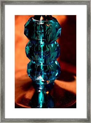 Crystalline Vintage Framed Print