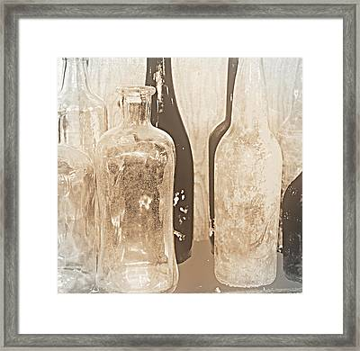 Crystle Framed Print by Diane montana Jansson