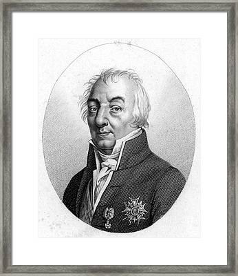 Cte Claude Louis Berthollet (1748-1822). French Chemist. Stipple Engraving, French, Early 19th Century Framed Print by Granger