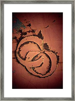 CU Framed Print by Odd Jeppesen