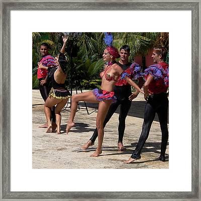 Cuba Dance Framed Print