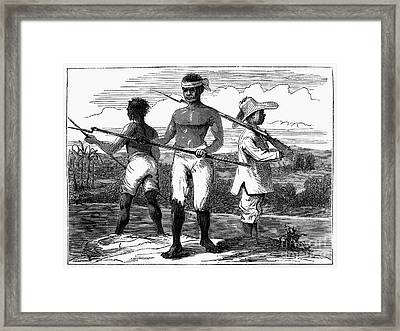 Cuba: Ten Years War Framed Print