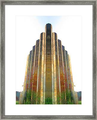 Cube Framed Print by Michele Caporaso